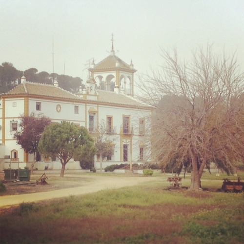 Hacienda de Simón Verde in Gelves, Seville   Spain  Photo taken...