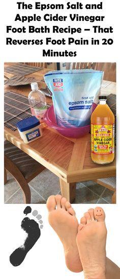 epsom salt bath for pinched nerve