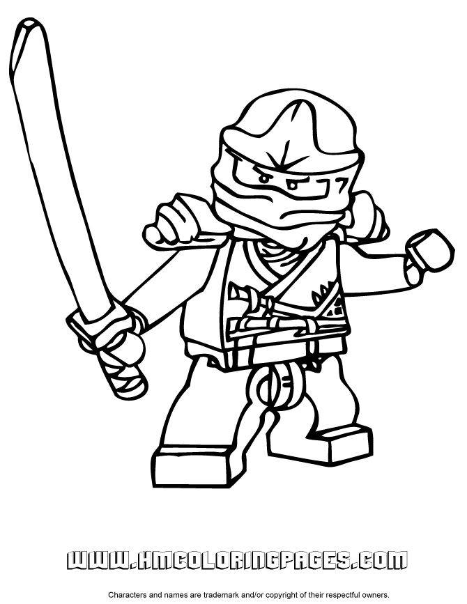24 best images about Ninjago coloring