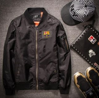 Jual jaket semi kulit barca, add pin bb : d5c80381