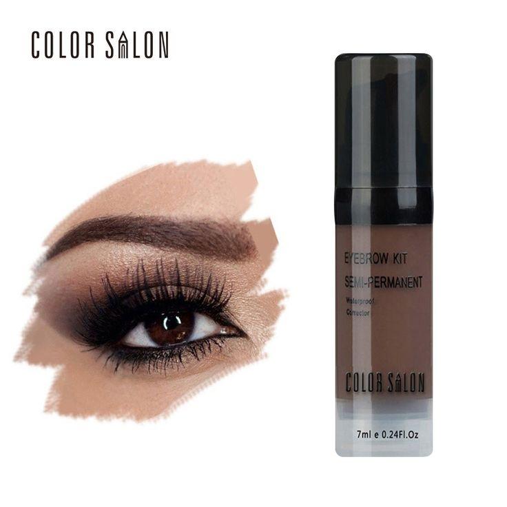 Color Salon Naked Shade For Eyebrow Gel 7ml Professional Waterproof Long-lasting Tint Sexy Natural Eye Makeup Cream