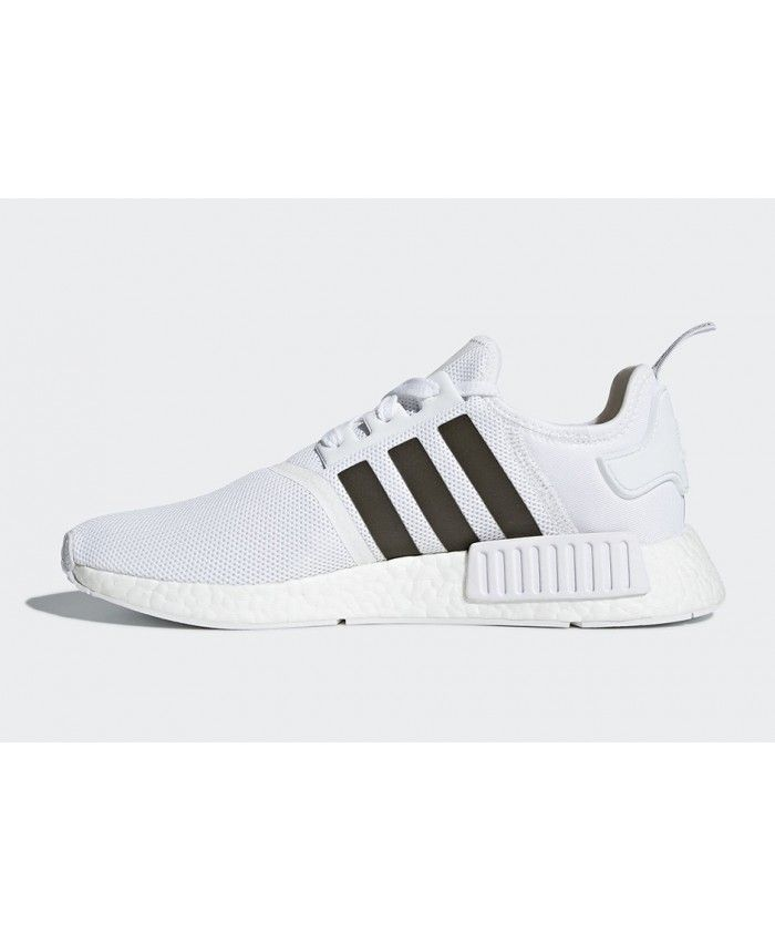 9b0436ee9d2 Adidas NMD R1 Footwear White Trace Grey Trainers
