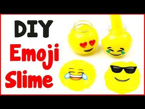 DIY Crafts: How To Make Emoji Slime - DIY Slime with 3 Ingredients! - YouTube
