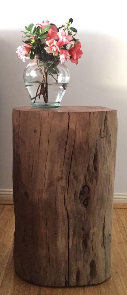 Gorgeous organic stool or table... Enjoyed finishing this piece!