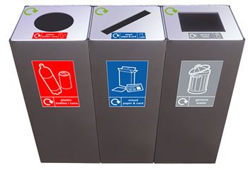 Recycling bins | Claremont Office Interiors