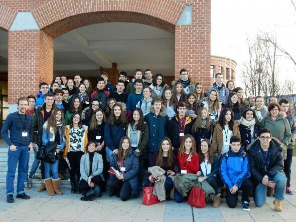 Más de 50 alumnos participan en el Campus de Vegazana en la fase local de la Olimpiada Matemática