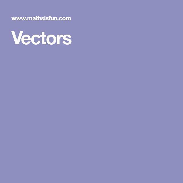 9 besten Vectors Bilder auf Pinterest   Algebra, Arbeitsblätter und ...
