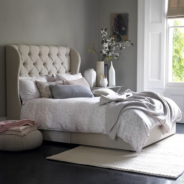 Button & Sprung is a brand new bed company set up by Adam Black (ex Feather & Black) that has caught our eye lately. They have a comprehensive and very handsome range of bedsteads, divans and mattress and a very tempting after sales promise too. All mattresses are sold with a free, no quibbl