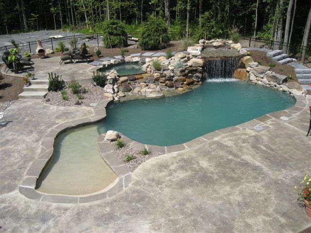 17 best ideas about gunite pool on pinterest swimming pools lagoon pool and swimming pool designs - Gunite swimming pool designs ...