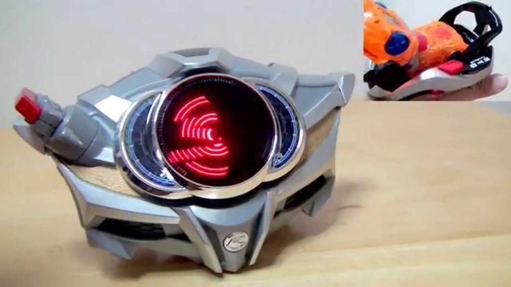 ファンの振動で迫力あり!DXドライブドライバーシフトブレス ギミック確認 仮面ライダードライブ