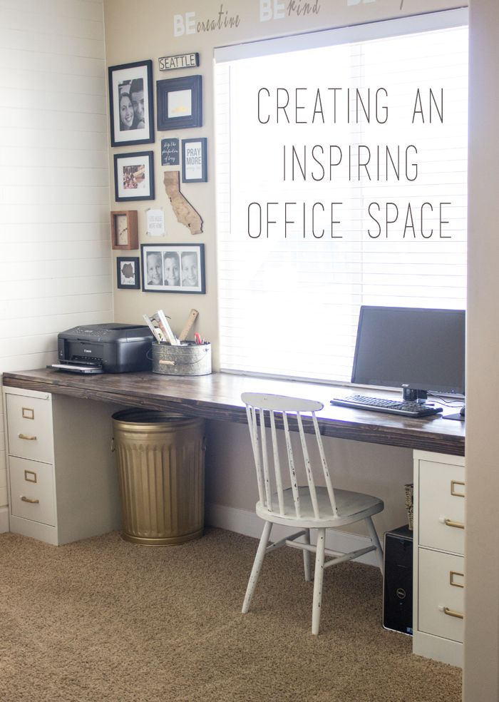 Creating an organized craft room and space so that you can feel inspired to create!