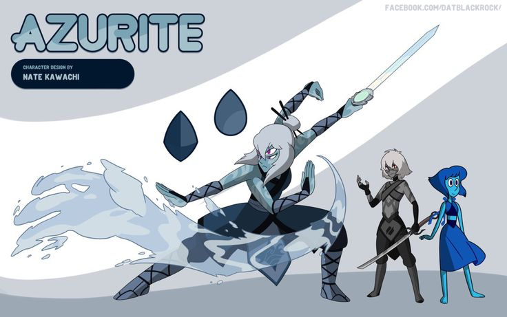 Gem Fusion Azurite by TheGraffitiSoul on @DeviantArt