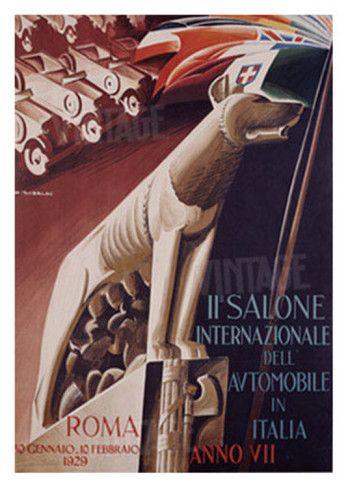 2nd Salone Automobile Italia , 1929. http://www.allposters.com/-sp/2nd-Salone-Automobile-Italia-Posters_i394780_.htm