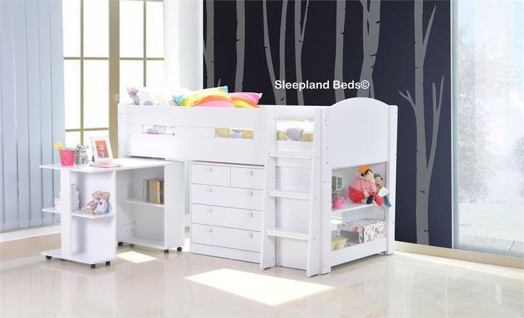 Mayfair White Mid Sleeper Bed