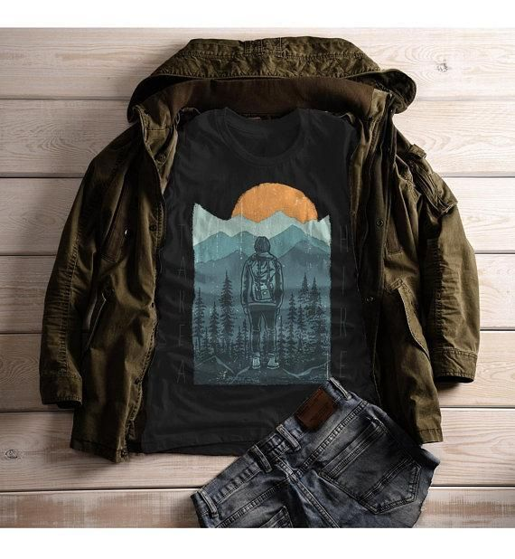 Women's Hiking T Shirt Take A Hike Shirt Graphic Tee Hiker Shirts Nature Wanderlust Clothing – Products