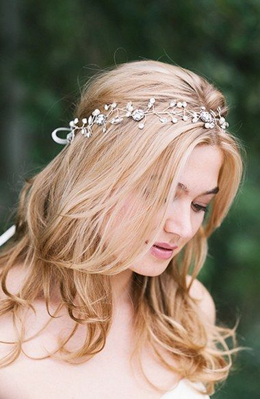 Gorgeous embellished hair ribbon