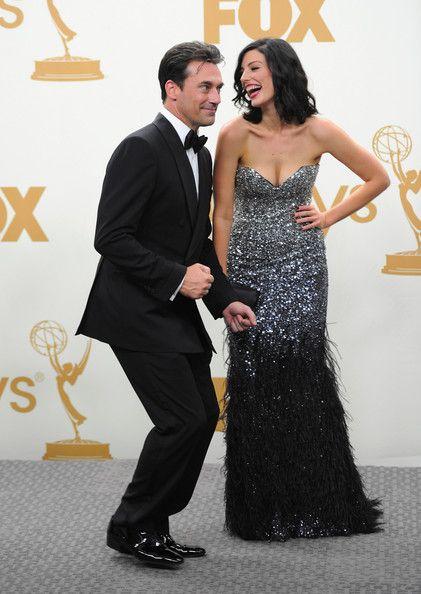 John Hamm + Jessica Pare