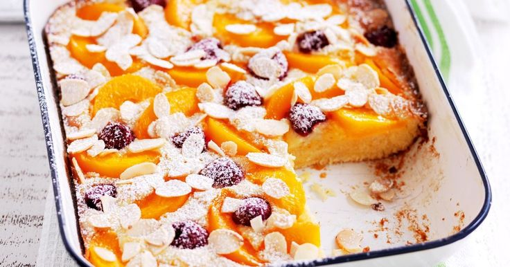 Impress family and friends with this scrumptious, 'tray chic' fruity dessert.