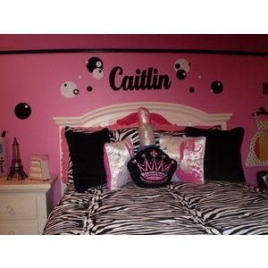 img thing 300300 zebra bedroomsdaughters - Zebra Bedroom Decorating Ideas