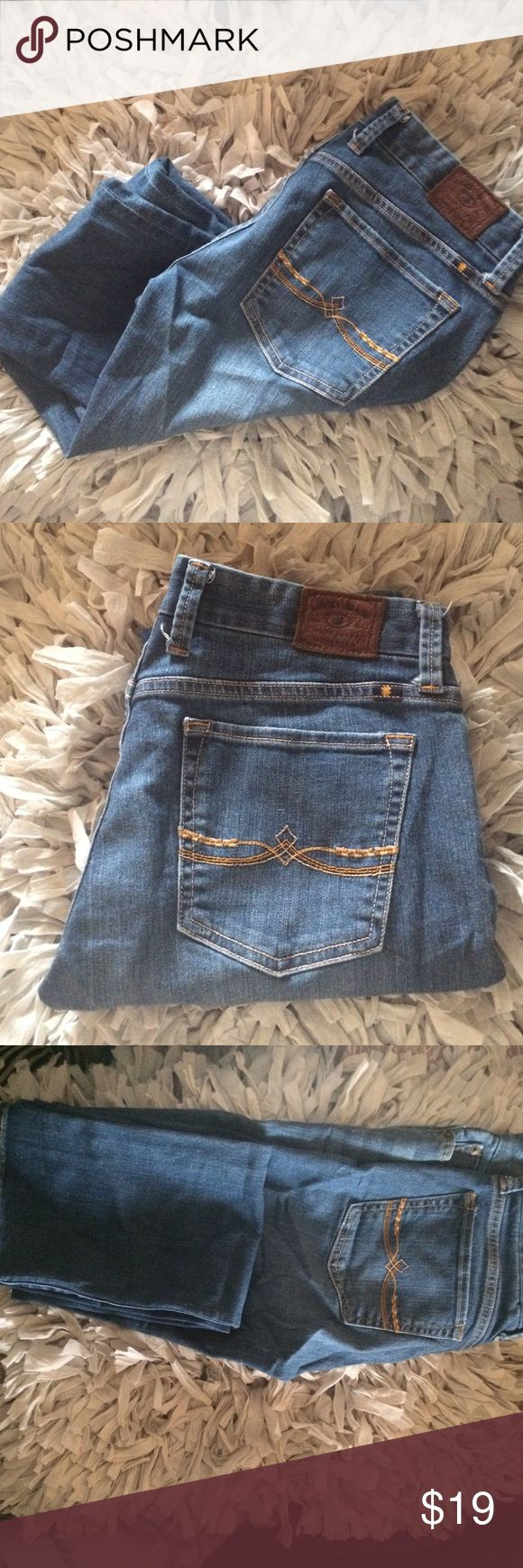 Lucky Brand Sweet Jean Straight Jeans Lucky Sweet Jean Straight Jeans Size 6/28. Perfect fit for pumps or booties. Length is 33inch inseam ❤ I love reasonable offers...BUNDLE AND SAVE Lucky Brand Jeans Straight Leg