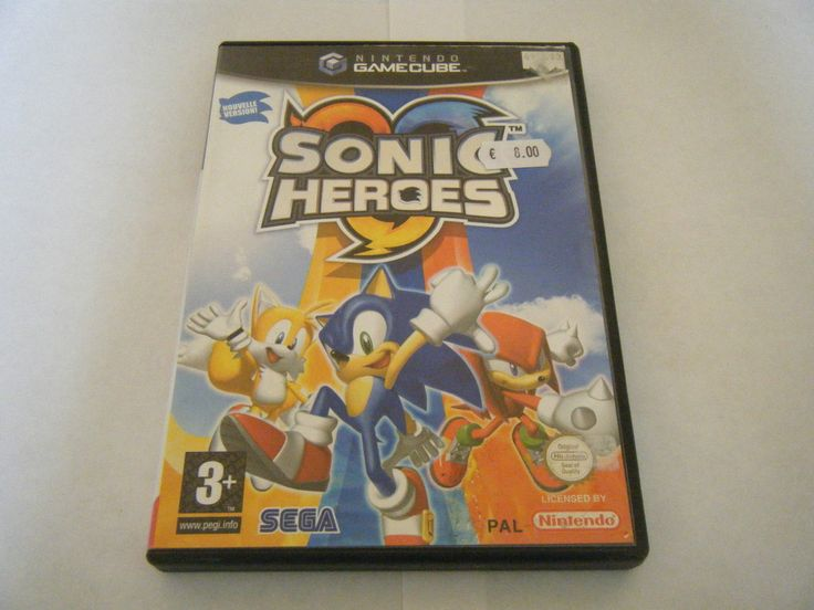 Sonic Heroes Nintendo Gamecube Sans Notice Occasion PAL FR 010086610253 | eBay