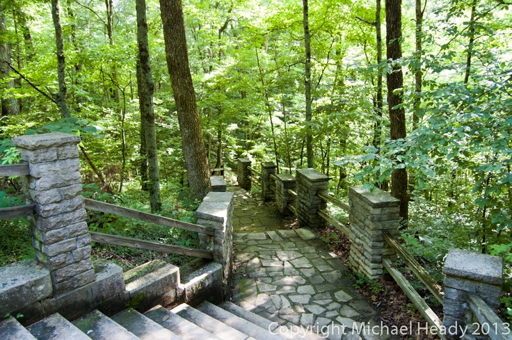 Stairs at Spring Mill