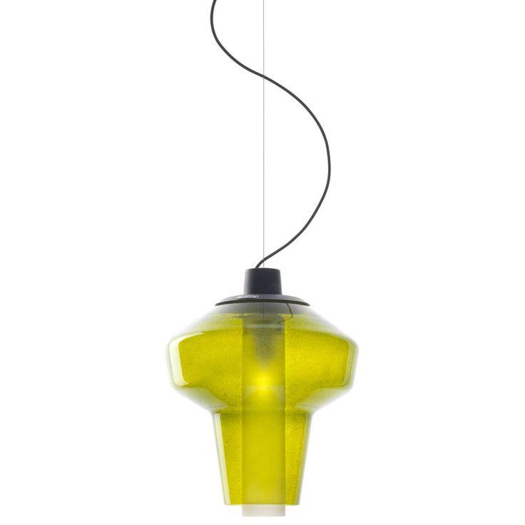 Foscarini Metal Glass Suspension Light - Opad