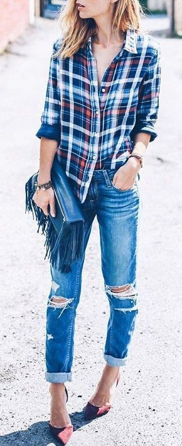 Adorable! Love those heels and shirt!