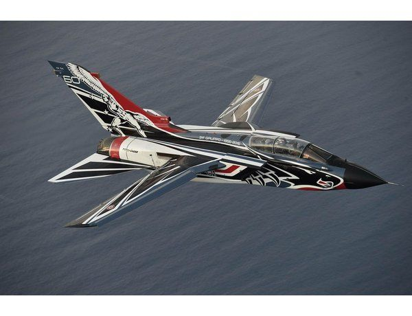 The Italeri 1/72 Tornado IDS 60th Anniversary 311 GV RSV from the plastic aircraft model kit range accurately recreates the real life jet aircraft.