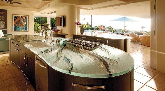 Reasonable Countertop Options : kitchen countertop ideas kitchen countertops granite exterior forward ...