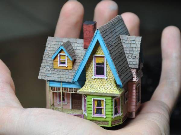 Tektonten Papercraft - Free Papercraft, Paper Models and Paper Toys: Pixar Papercraft: Carl's House Miniature