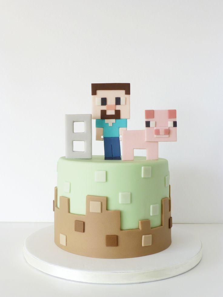 Peaceofcake ♥ Sweet Design: Minecraft Cake • Bolo Minecraft