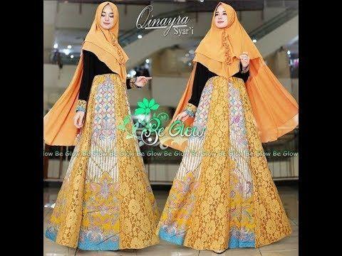 Batik Hijab Fashion Style