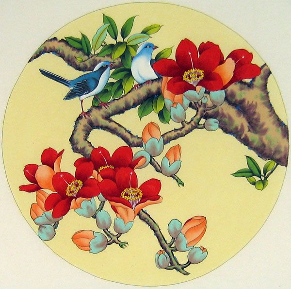 Chinese Bird Art | Chinese bird paintings - Birds and Flowers
