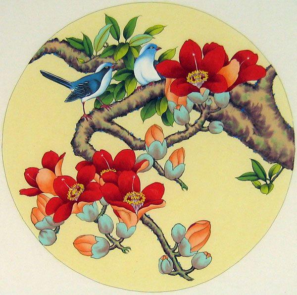 Chinese Bird Art | Chinese bird paintings - Birds and Flowers