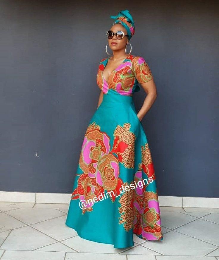 afrikanischer Druck kleidet 50+ beste Outfits