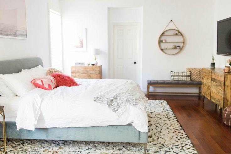 Hoe richt je een rustgevende slaapkamer in? Wij kozen het thema strand en laten je zien hoe je dit aanpakt. Een aantal tips voor een rustgevende slaapkamer