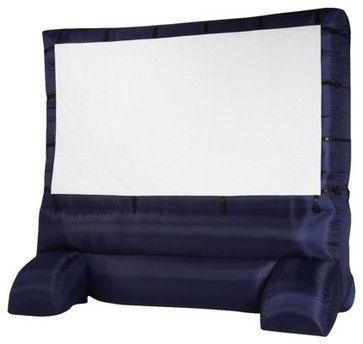Airblown Inflatable Widescreen Deluxe Outdoor Movie Screen - contemporary - outdoor products - Target  While most of us enjoy connecting with nature when relaxing outdoors, there are times when this inflatable widescreen would be so much fun. Movie nights under the stars will be a popular event among your friends and family.
