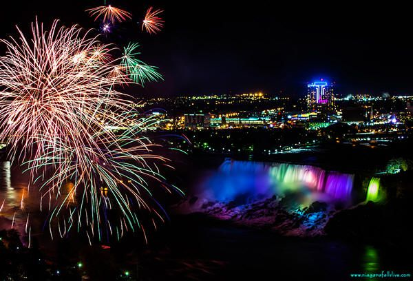fireworks at niagara falls on july 4th
