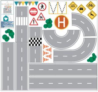 pista de autos
