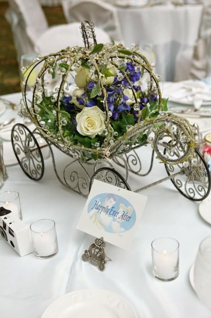 A Cinderella Wedding   Wedding Centerpieces.   Read More:  Http://simpleweddingstuff
