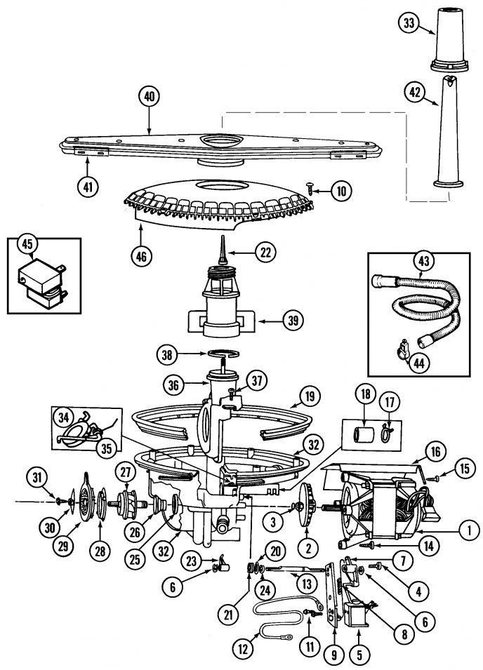 Maytag Performa dishwasher Parts