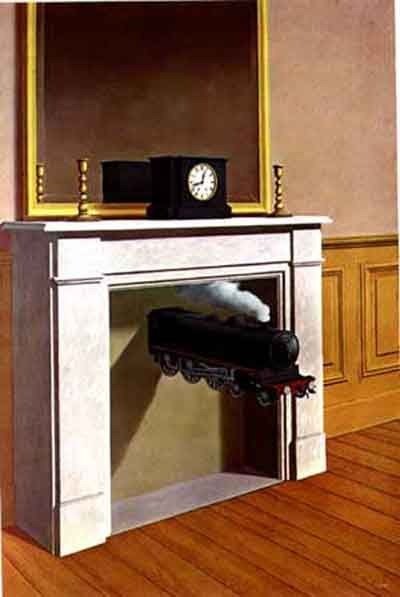 Rene Magritte 1898 1967 Quot Time Transfixed Quot 1939 Mr