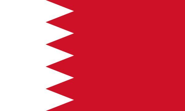 Bahrain Country Flag