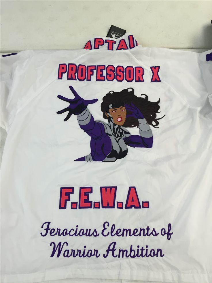 Professor X SLG | Sigma Lambda Gamma Custom Jacket
