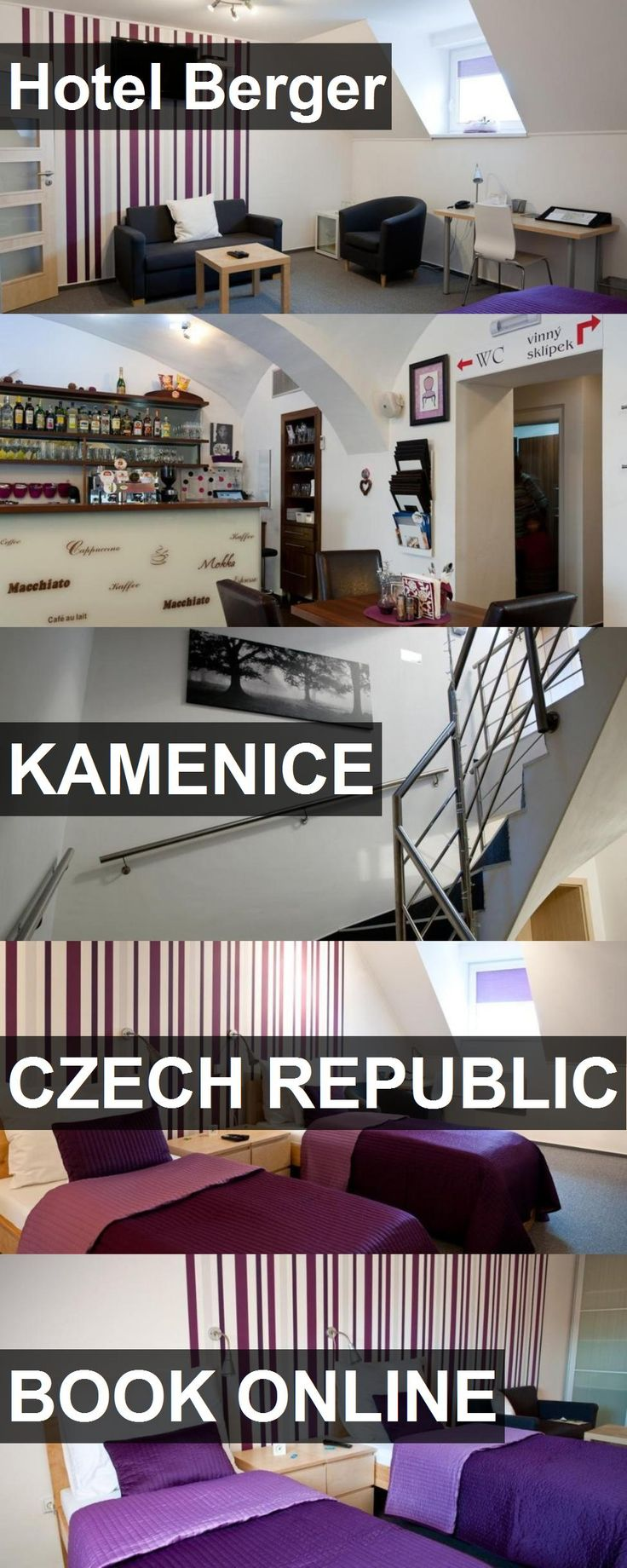 Hotel Hotel Berger in Kamenice, Czech Republic. For more information, photos, reviews and best prices please follow the link. #CzechRepublic #Kamenice #hotel #travel #vacation