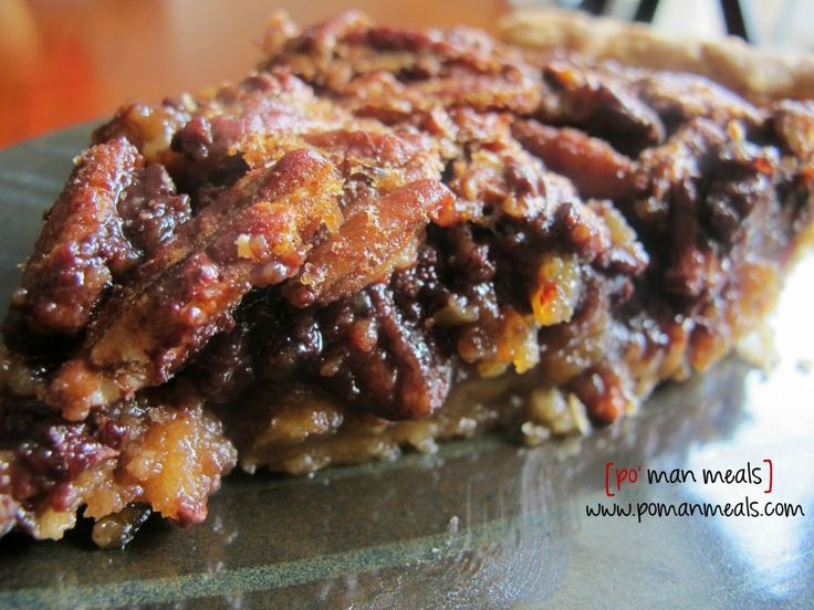 pecan and chocolate chip pie