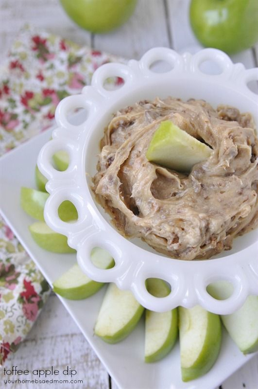 Toffee Apple Dip - one of my favorite fall treats!