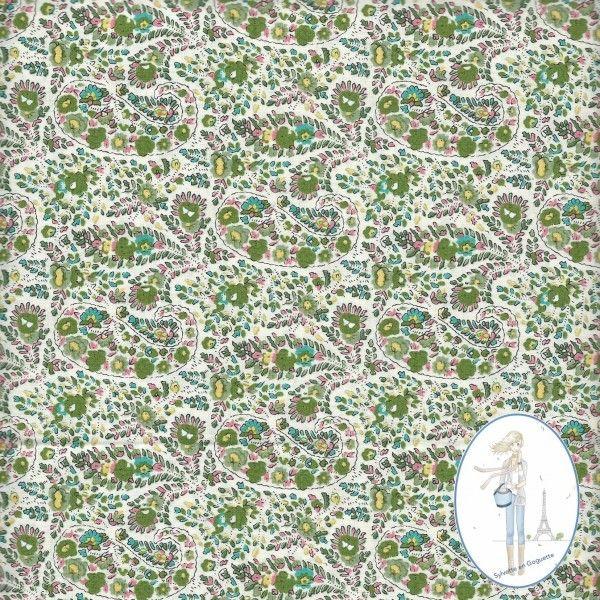 Plus de 1000 id es propos de mes jolis tissus fantaisie sur pinterest par - Tissu imprime pas cher ...