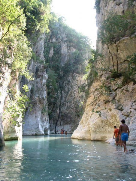 Mythical river Acheron, Parga #Epirus #Greece (In ancient Greek mythology, Acheron was known as the river of pain, and was one of the five rivers of the Greek underworld, Hades)